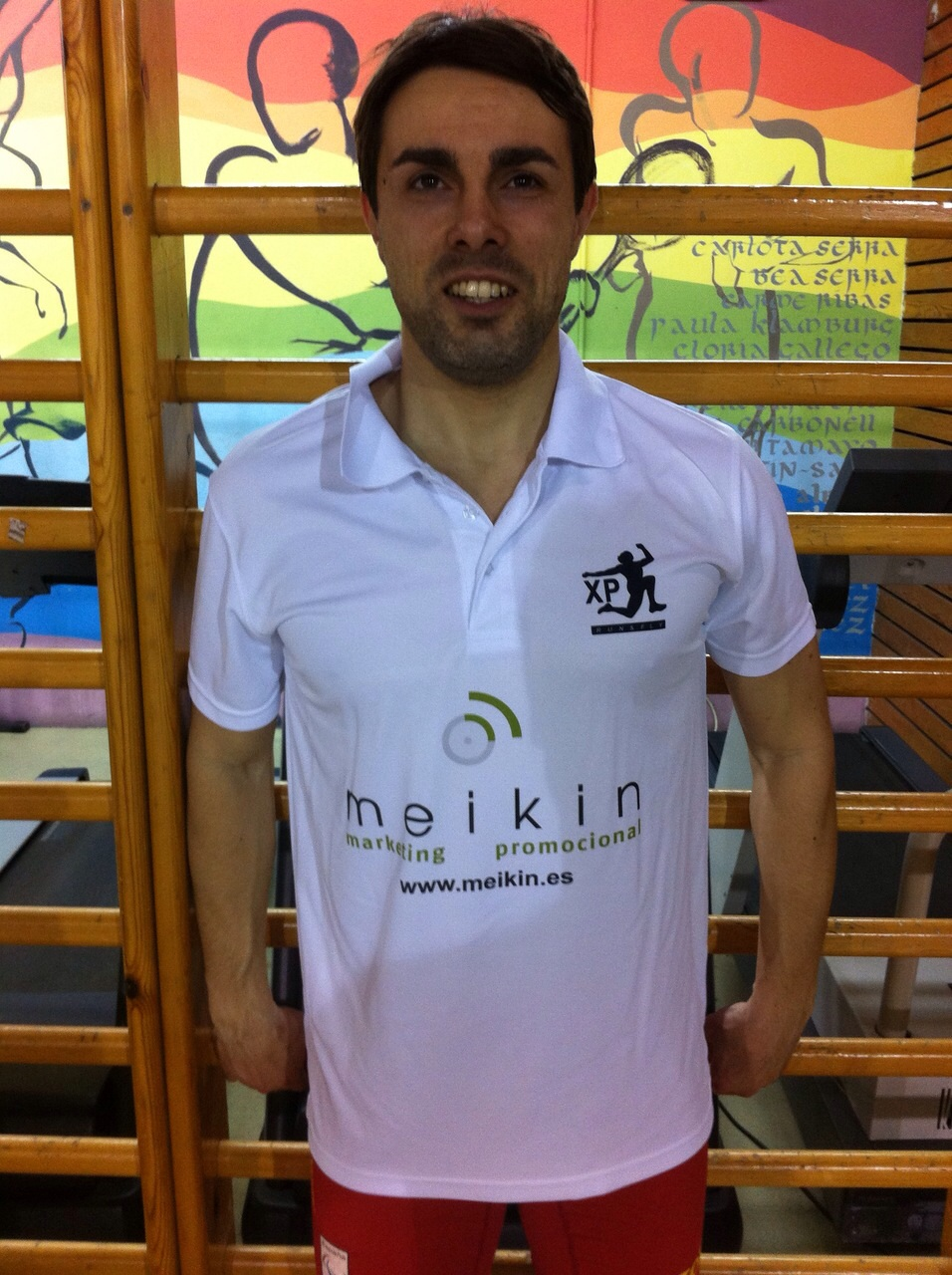 Image of Xavi Porras with new sponsor-Meikin - copia